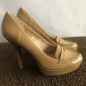 Nine & Co. Tan Heels